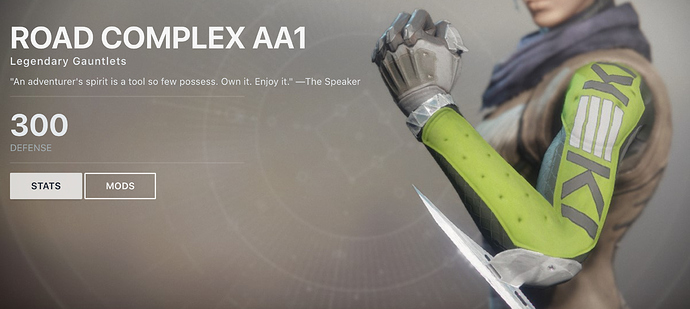 Destiny 2 Legendary Gauntlet