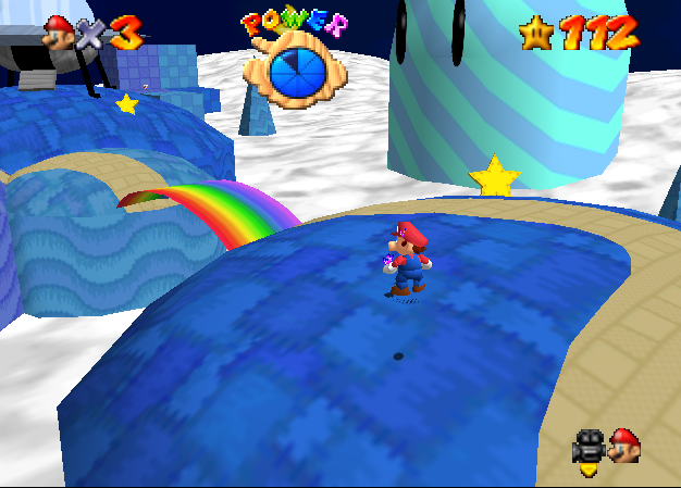 Super Mario 64 hacks - King of Posters - selectbutton 2