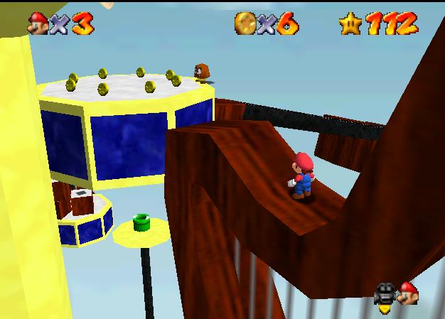 Super Mario 64 hacks - King of Posters - selectbutton 2